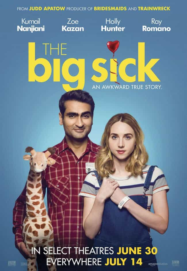 The Big Sick is listed (or ranked) 2 on the list The Best Recent Romantic Comedy Shows & Movies