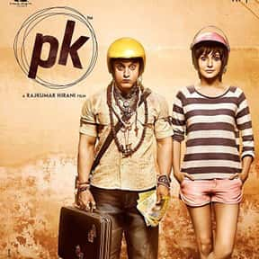 PK is listed (or ranked) 4 on the list The Best Bollywood Movies on Netflix