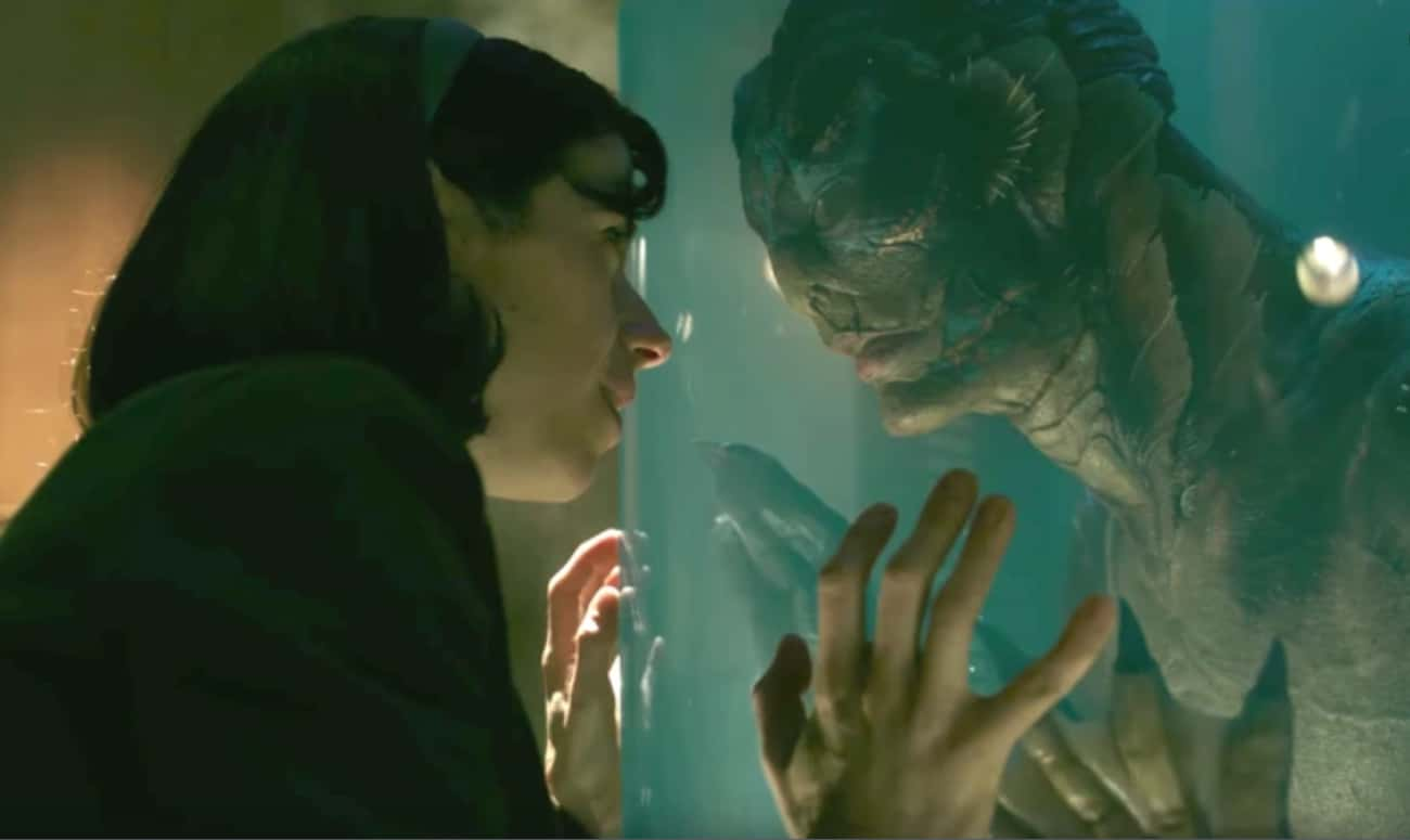 Elisa And Amphibian Man In 'Th is listed (or ranked) 1 on the list The 14 Most Memorable Movie And TV Romances Between Humans And Aquatic Creatures