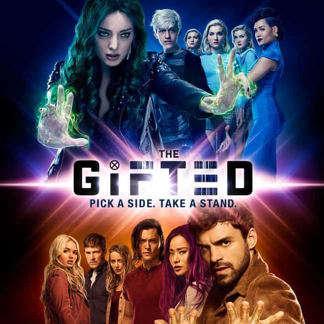 The Gifted is listed (or ranked) 4 on the list The Best New Superhero TV Shows of the Last Few Years