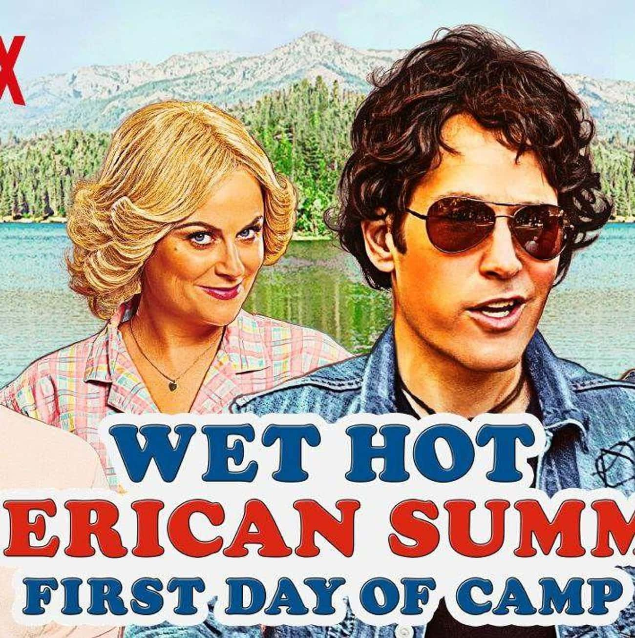 Wet Hot American Summer: Ten Y is listed (or ranked) 4 on the list The Greatest TV Shows About Camp