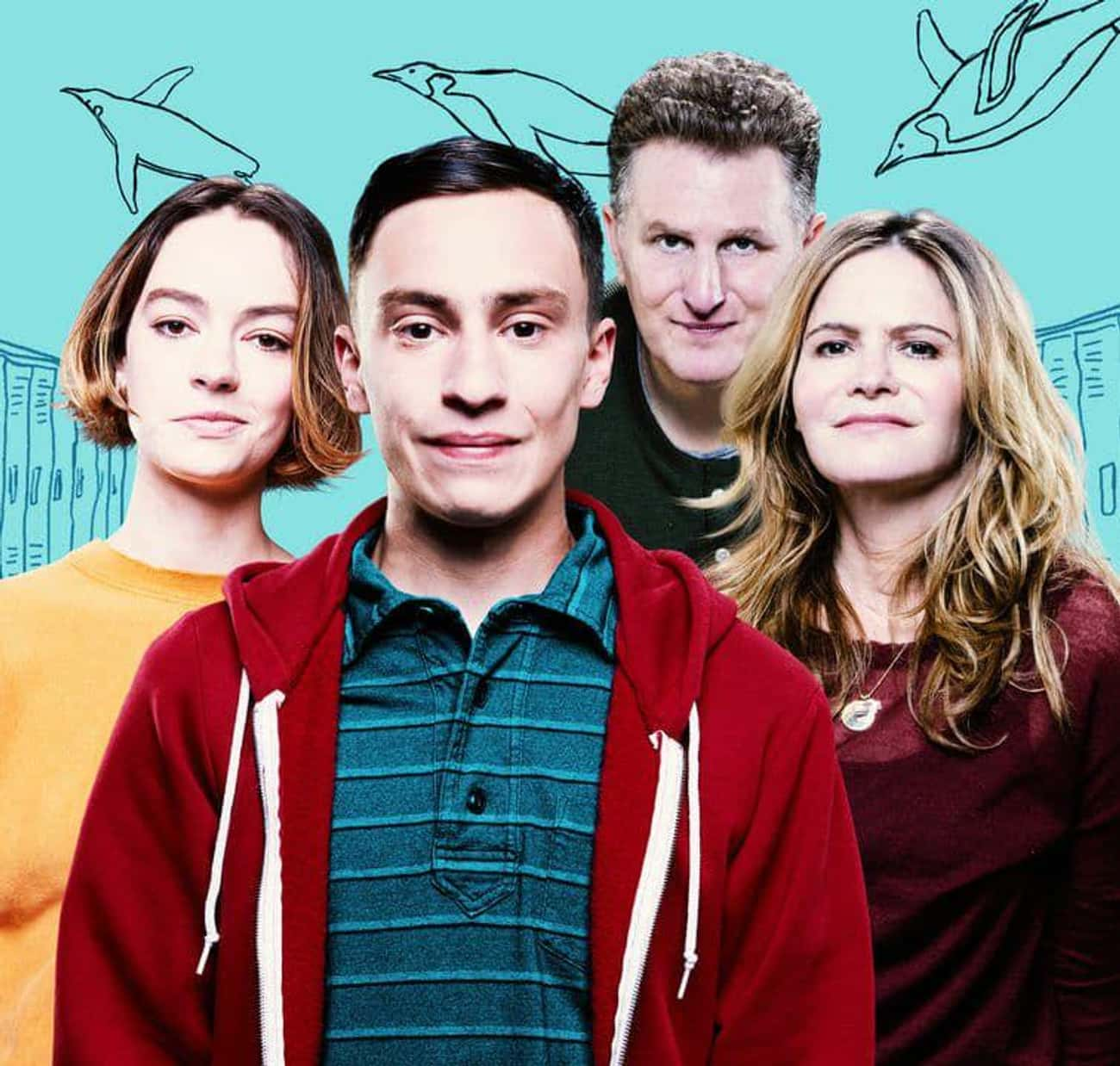 Atypical is listed (or ranked) 4 on the list What To Watch If You Love 'PEN15'