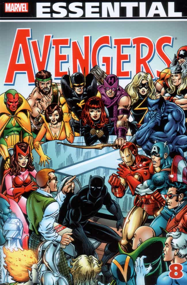 Avengers is listed (or ranked) 2 on the list The Most Popular Superhero Teams By Comic Book Appearances