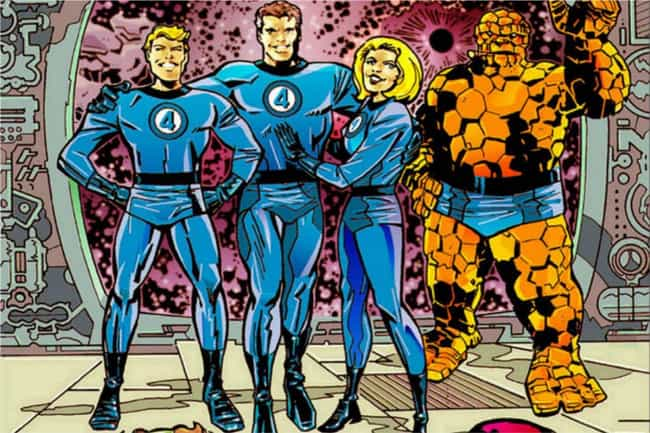 Fantastic Four is listed (or ranked) 3 on the list The Coolest Avengers Who Haven't Shown Up In The MCU Yet