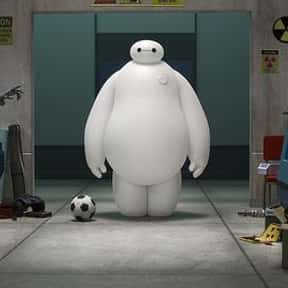 Baymax is listed (or ranked) 12 on the list The Greatest Robots of All Time