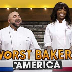Worst Bakers in America is listed (or ranked) 23 on the list The Best Baking Competition Shows Ever Made