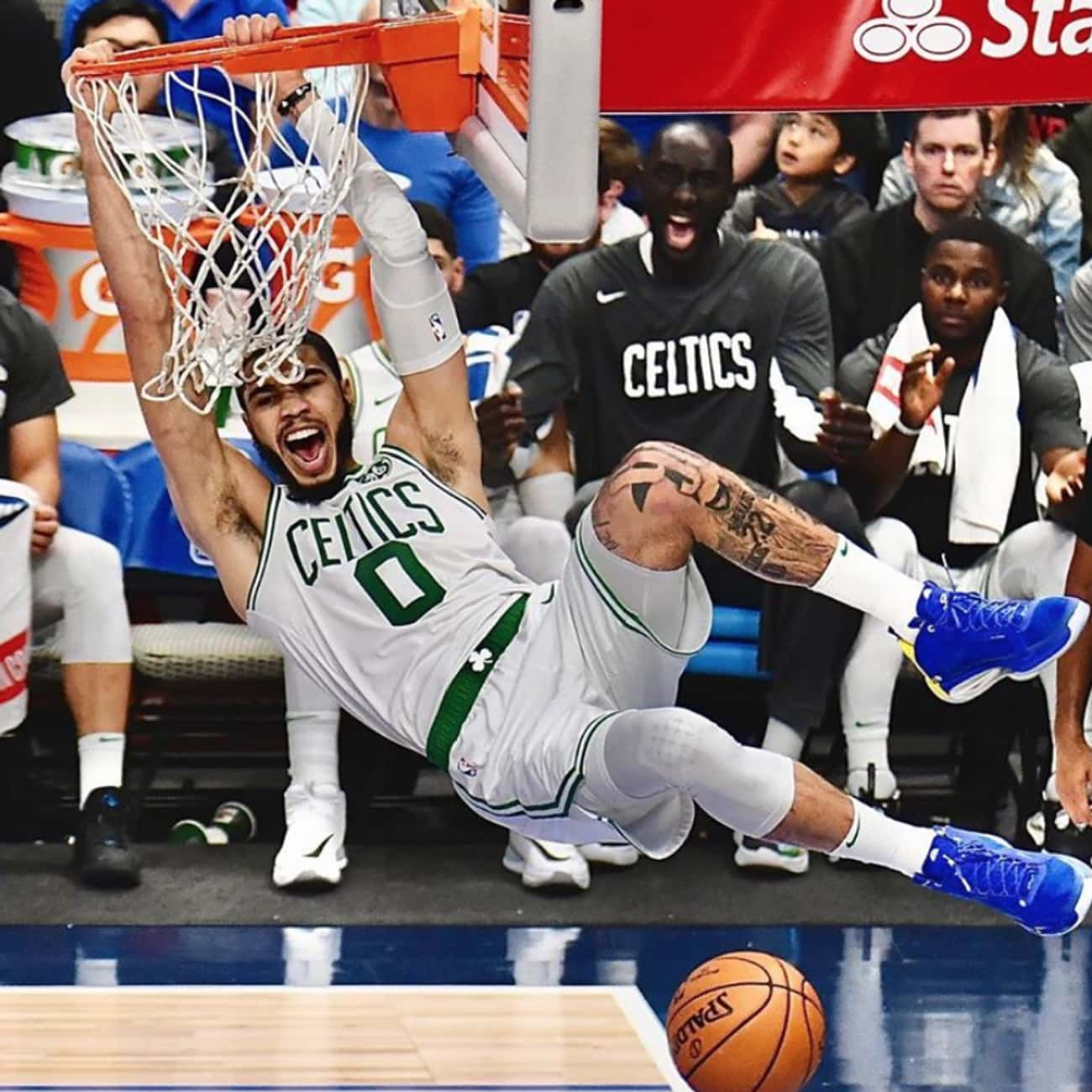 Jayson Tatum is listed (or ranked) 2 on the list The Best NBA Players Signed To Jordan Brand