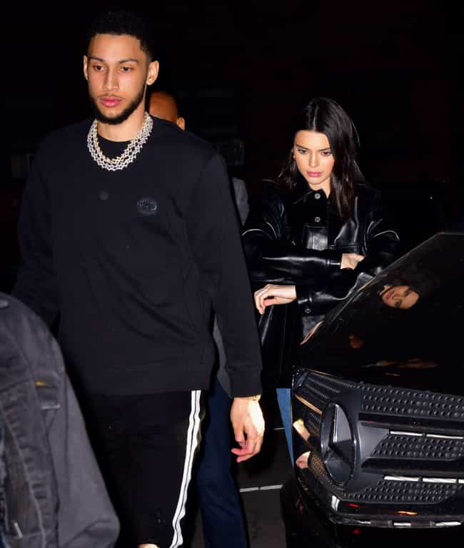 Ben Simmons is listed (or ranked) 1 on the list Kendall Jenner Loves and Hookups