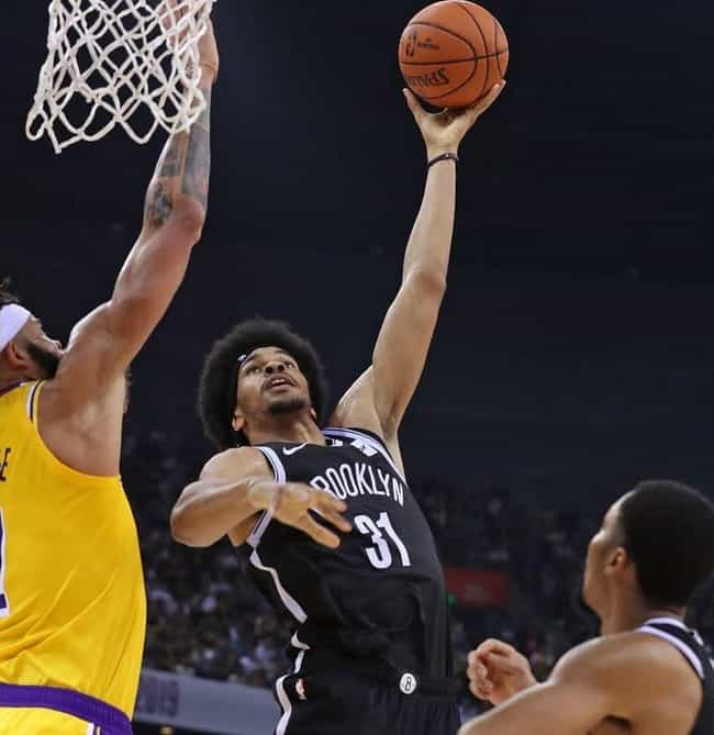 Jarrett Allen is listed (or ranked) 1 on the list The Coolest Hairstyles In The NBA Today