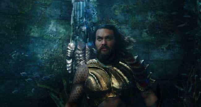 Aquaman is listed (or ranked) 4 on the list Movies That Take Place Primarily Underwater, Ranked