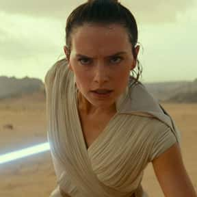 Rey is listed (or ranked) 8 on the list Which 'Star Wars' Character Is The Best Skateboarder?