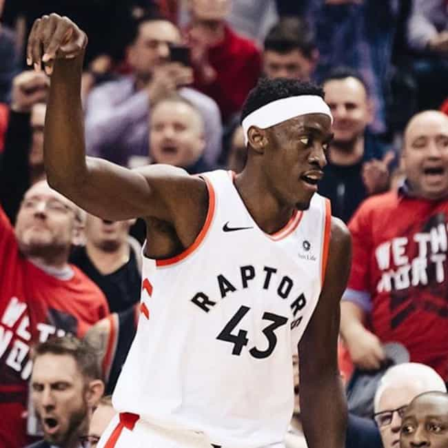 Pascal Siakam is listed (or ranked) 3 on the list Every Player In The 2019 NBA Finals, Ranked