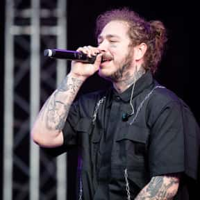 Post Malone is listed (or ranked) 7 on the list Who Is The Most Famous Rapper In The World Right Now?