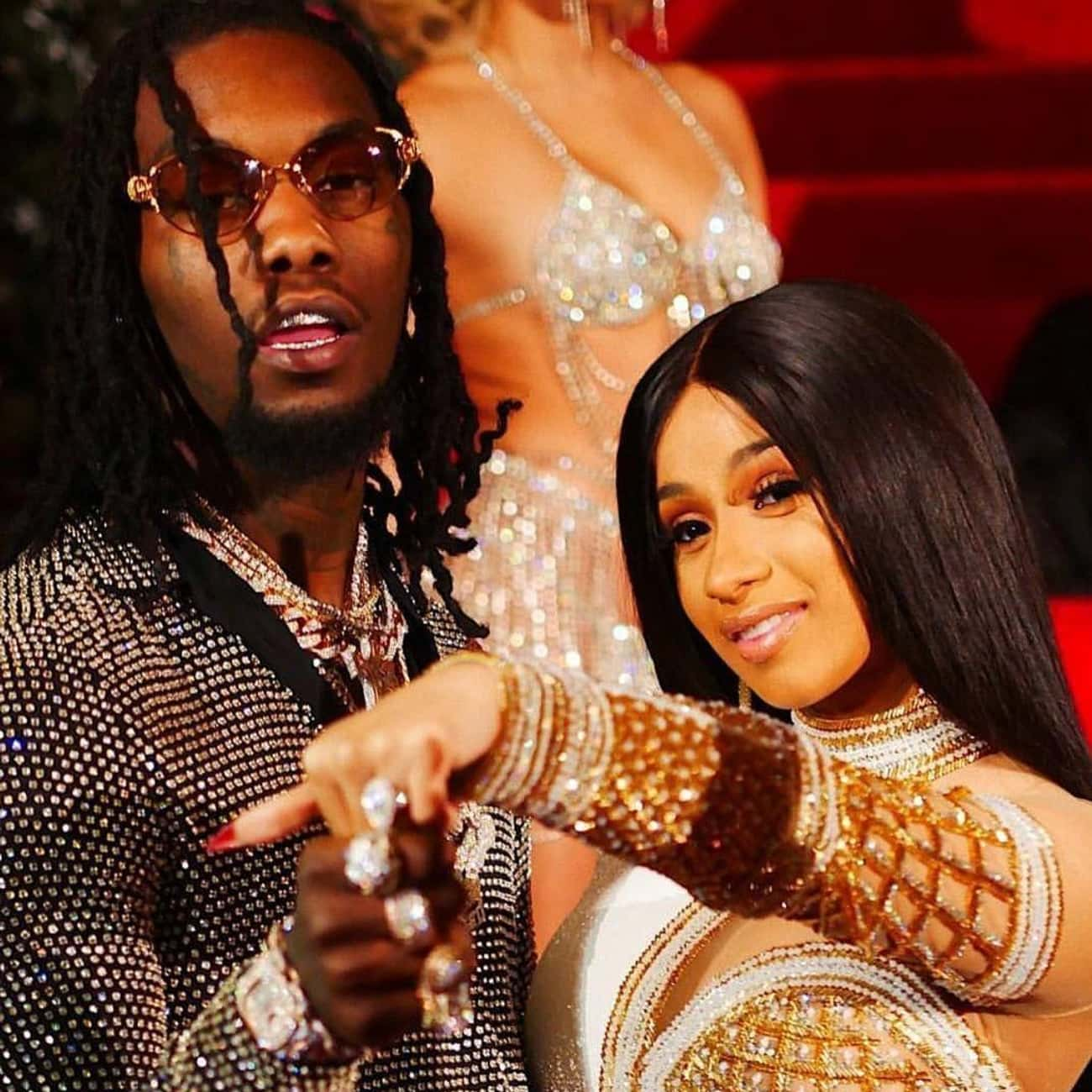 Cardi B is listed (or ranked) 1 on the list Offset Loves And Hookups