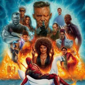Deadpool 2 is listed (or ranked) 22 on the list The Greatest Comic Book Movies of All Time