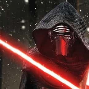 Kylo Ren is listed (or ranked) 25 on the list Which Star Wars Characters Deserve Spinoff Movies?