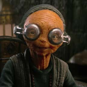 Maz Kanata is listed (or ranked) 19 on the list Which 'Star Wars' Character Is The Best Skateboarder?