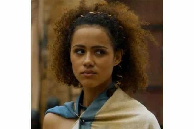 Missandei is listed (or ranked) 4 on the list The Best Members of House Targaryen