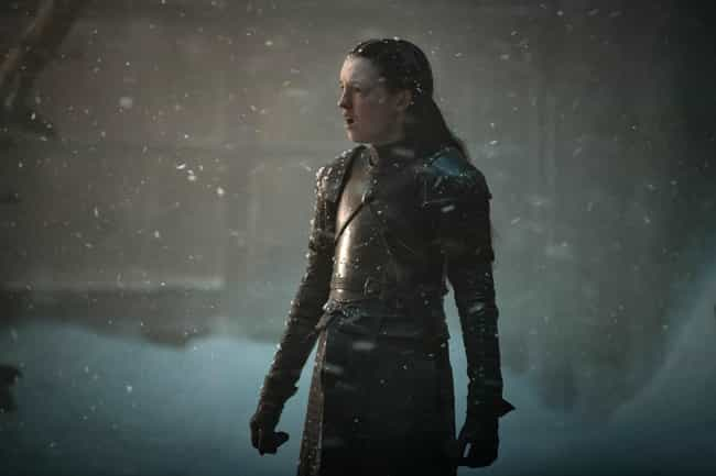 Lyanna Mormont is listed (or ranked) 4 on the list The Most Badass Ladies from Game of Thrones