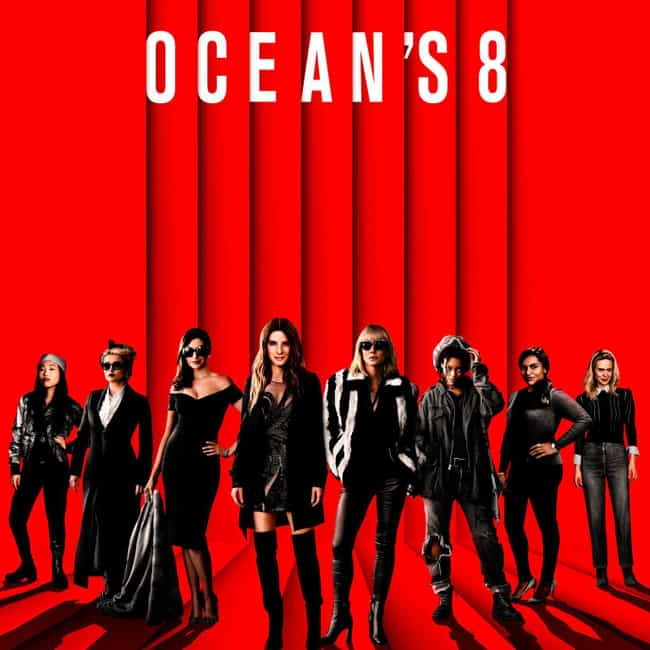 Ocean's 8 is listed (or ranked) 3 on the list The Best Ensemble Casts of 2018