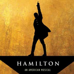 Hamilton is listed (or ranked) 1 on the list The Best Broadway Shows Right Now