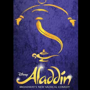 Aladdin is listed (or ranked) 10 on the list The Best Broadway Shows Right Now