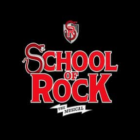 School of Rock is listed (or ranked) 14 on the list The Best Musicals Based on Movies