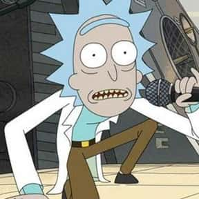 Rick Sanchez is listed (or ranked) 3 on the list Cartoon Characters You Totally Want To Have A Beer With