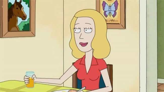 Beth Smith is listed (or ranked) 1 on the list Which 'Rick And Morty' Character Are You, According To Your Zodiac Sign?