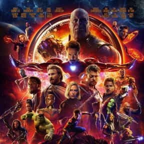 Avengers: Infinity War is listed (or ranked) 2 on the list The Greatest Comic Book Movies of All Time