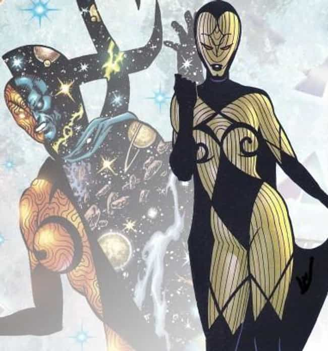 Infinity is listed (or ranked) 4 on the list The Most Powerful Characters in Marvel Comics