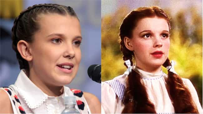 Millie Bobby Brown is listed (or ranked) 2 on the list Who Would Star In A Remake Of 'The Wizard Of Oz' Today?