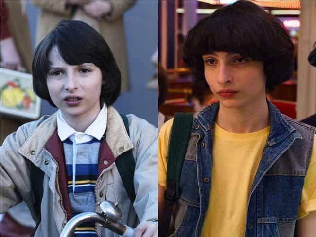 Finn Wolfhard is listed (or ranked) 2 on the list How the Cast of 'Stranger Things' Aged Since The First Season