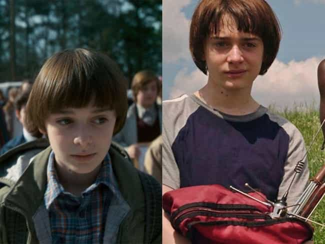 Noah Schnapp is listed (or ranked) 3 on the list How the Cast of 'Stranger Things' Aged Since The First Season
