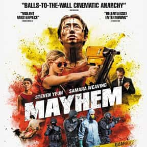 Mayhem is listed (or ranked) 19 on the list The Best Movies On Shudder