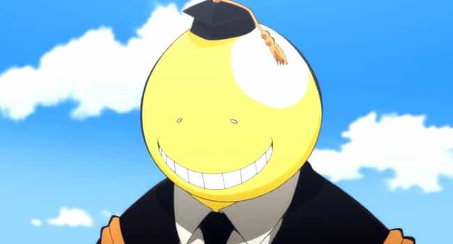 Koro-sensei is listed (or ranked) 3 on the list The 14 Most Selfless Anime Characters Who Are Always Willing To Help