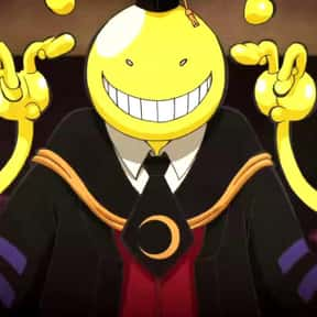 Koro-sensei is listed (or ranked) 2 on the list The Best Teacher Characters in Anime History