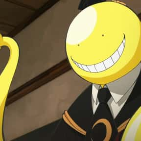Korosensei is listed (or ranked) 9 on the list The Very Best Anime Characters
