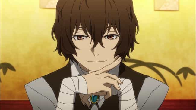 Osamu Dazai is listed (or ranked) 4 on the list 15 Anime Heroes Who Are Complete Sociopaths