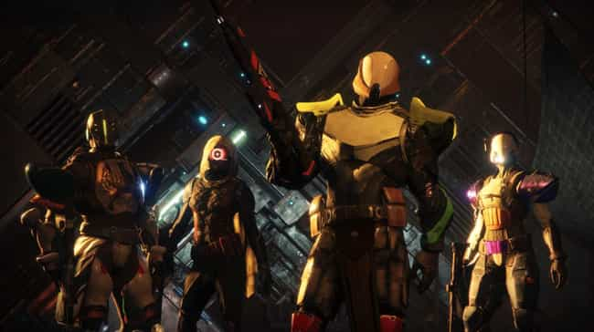 Destiny 2 is listed (or ranked) 1 on the list 15 Critically Acclaimed Video Games You're Too Embarrassed To Admit You Hate