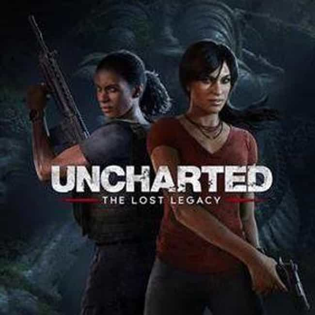 Uncharted: The Lost Lega... is listed (or ranked) 5 on the list The Best Uncharted Games