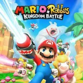 Mario + Rabbids Kingdom Battle is listed (or ranked) 18 on the list The Best Current Nintendo Switch Games You Can Play Right Now