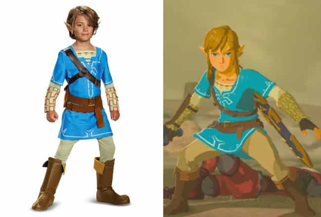 The Legend of Zelda: Breath of... is listed (or ranked) 2 on the list Cool Video Game Costumes That Look Just Like The Character