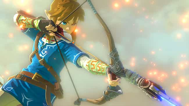 The Legend of Zelda: Bre... is listed (or ranked) 1 on the list The Most Popular Nintendo Switch Games Right Now