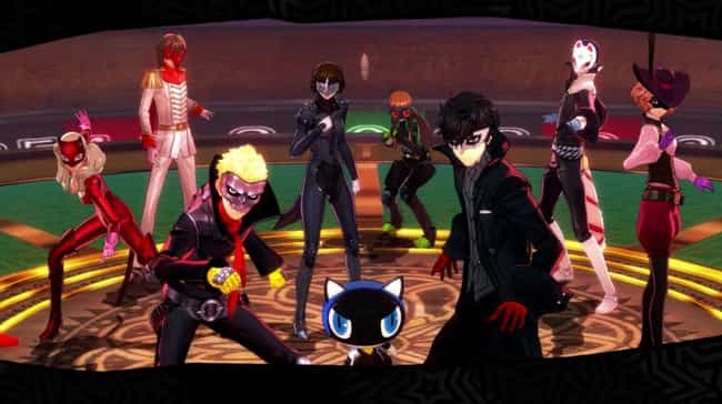 Persona 5 is listed (or ranked) 4 on the list The Best PlayStation 4 Games That Take Forever To Finish