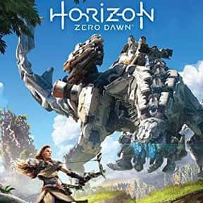Horizon Zero Dawn is listed (or ranked) 4 on the list The Best PS4 Games For Girls