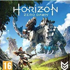 Horizon Zero Dawn is listed (or ranked) 20 on the list The Most Popular Open-World Video Games Right Now