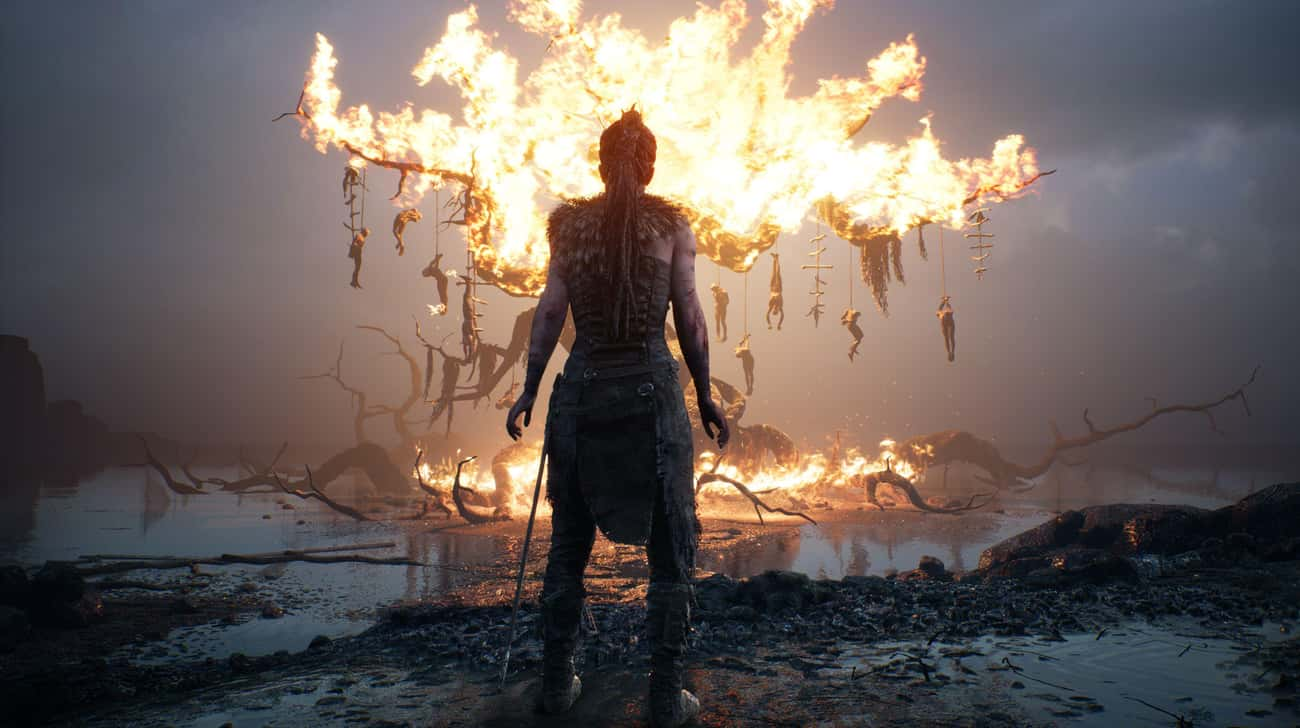 Hellblade: Senua's Sacrifi is listed (or ranked) 4 on the list Video Games Set In Hell, Ranked By How Much The Devil Would Approve