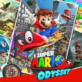 Super Mario Odyssey is listed (or ranked) 4 on the list The Most Popular Nintendo Switch Games Right Now