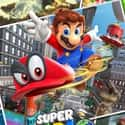 Super Mario Odyssey is listed (or ranked) 12 on the list The Most Popular Video Games Right Now